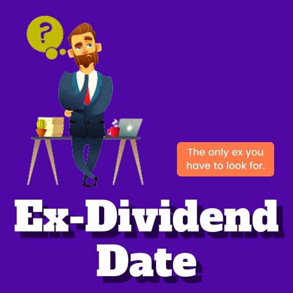 ex dividend date